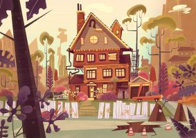 Disney Concept Art by jamesgilleard