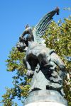 Sculpture in Madrid 1 by wildplaces