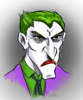 Angry Joker. by scootah91