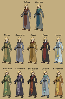 Mage Wardrobe by SteelFeathers