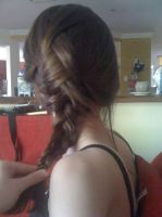 French Braid done on myself without mirror by Axel-is-Sexy-K7