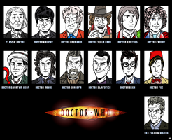 Doctor Whos by theEyZmaster