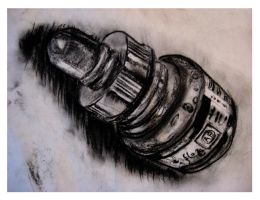 Ink bottle study by Niina-Bean