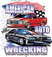 American Auto Wrecking by darquem