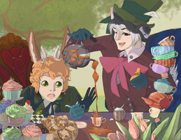 Tea Party by TwistyFox