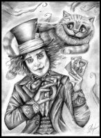 Alice in Wonderland by GabrielleGrotte