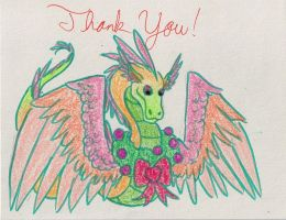 Thank You Note 6 Cover by SlightlyDraconic