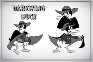 1930s Darkwing Duck by JK-Antwon