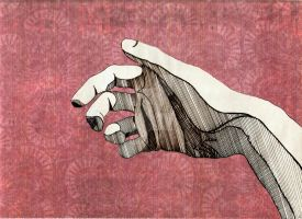 Hand by klausfloride