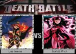 Lina Inverse Vs Scarlet Witch DEATH BATTLE by Iorigaara