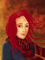 Lily Evans by azile-azure