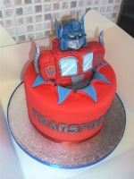 Optimus Prime Suprise by gertygetsgangster