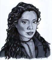 Gina Torres by dani-kelley
