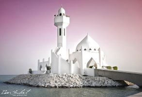 Mosque in Saudi Arabia by IsacGoulart