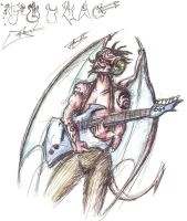 I'm A Demon With A Guitar by JoeD-rtman