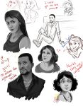 madhouse OR TWD SKETCHES 3 by Nateyou