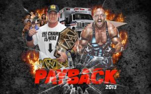 WWE Payback 2013 Wallpaper by Chirantha