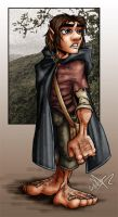 frodo colored by bumblebee