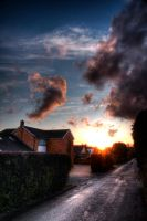 Sunset on Nightingale Lane by thesolitary