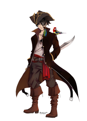 Pirate captain levi x pirate male reader au 2 5 by shadowsbyday on