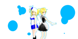 .:MMD:. Fairy Tail - Lucy - Double Trouble by Gr8AndPowerfulAroura