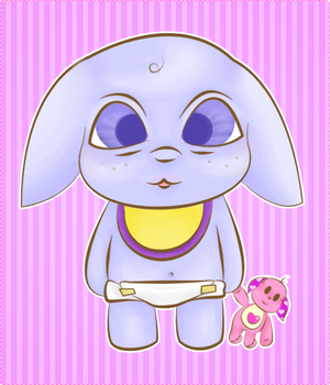 Baby Kacheek by WonderlandDuchess