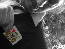 King of Hearts Cut Out by edenchanges