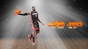 Lebron James wallpaper by chronoxiong