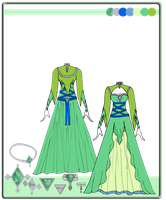 Quietus Designs: Greenleaf Gown by mitsuki0tennyo