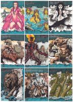 Classic Mythology Sketch Cards S4 by JesterretseJ