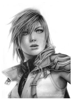 Lightning Final Fantasy XIII by Anadia-Chan