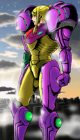 Metroid Zero Mission Ending 2 by s3k94