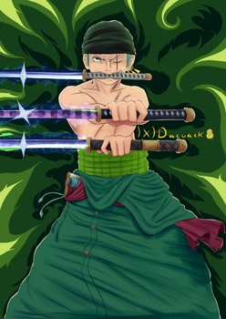 Zoro - The right hand of the king :) by DaaavidLL