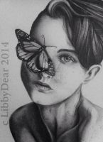 Butterfly Girl by LibbyDear