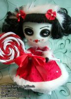 lollipop lyllionia custom doll by Posiez