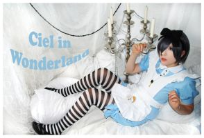 Ciel in Wonderland by neni-chan