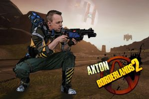 Axton - Borderlands 2 Cosplay Incoming by Ruun
