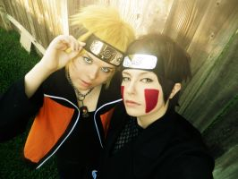 Kiba and Naruto, S E L F I E by NaruForeverSasu
