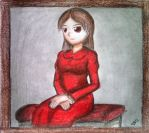 Ib - The Lady in Red by ScarletJewelCV05