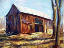 The Old Barn by Wulff-Arts