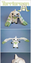 Terriermon Plushie by Kegawa