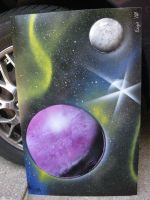 Celestial Spray Painting15 by Christine-Eige