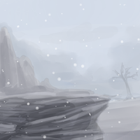 icy world by Rijaal