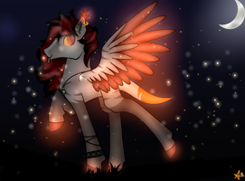 Art Trade with XimerEnergy by CleoIsAFluffyKat