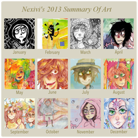 2013 Art Summary by Nexivi