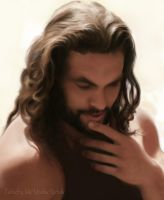 Jason Momoa Angel by Mirishka by mirishka10