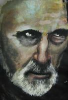 Christopher Lee by ResHumanae