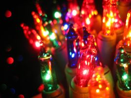 Christmas Tree Lights 6 by Holly6669666