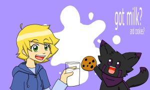 Got Milk . . . and cookies? by Javen-Ace