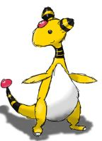 Ampharos by LugiaLuvr13
